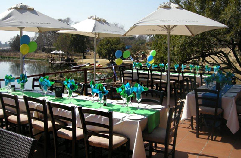 Party venue near Lanseria, Muldersdrift.